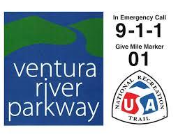 Ventura River Parkway sign
