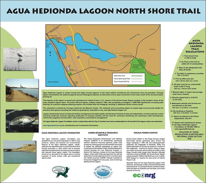 Agua Hedionda Educational Signs Project